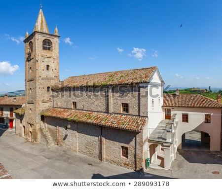 Kasaba kuzey İtalya seyahat Stok fotoğraf © rglinsky77