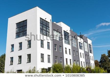 terraced housing in berlin stock photo © elxeneize