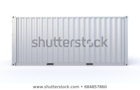 foto · vrachtschip · zee · achtergrond · boot · industrie - stockfoto © flipfine
