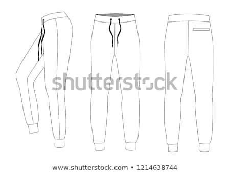 Kadın pantolon moda alışveriş iş kadın Stok fotoğraf © alessandro0770