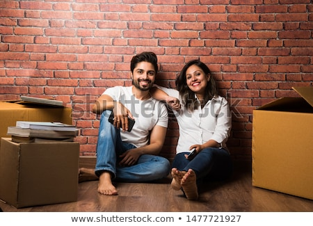 Stock photo: Indian couple