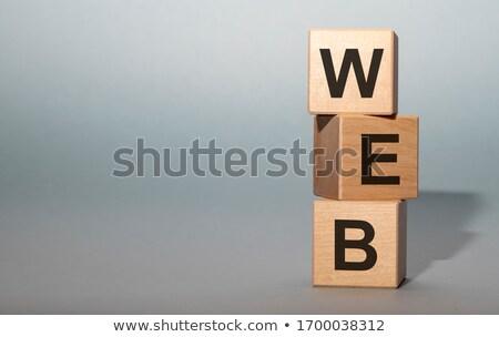 Web word Stock photo © fuzzbones0