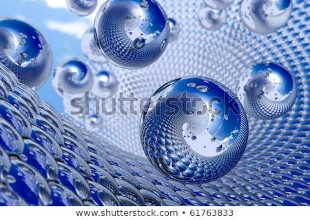 fractal · funky · naar · 3D · ontwerp - stockfoto © yurkina