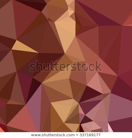 heather purple abstract low polygon background stock photo © patrimonio