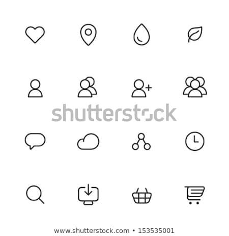 Netwerken ingesteld gegevens kleurrijk server Stockfoto © Genestro