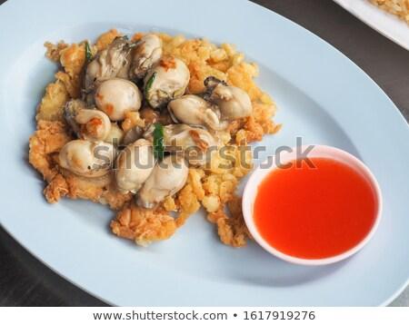 Asya · yumurta · stil · ana · yemek · kahvaltı · yemek - stok fotoğraf © tang90246