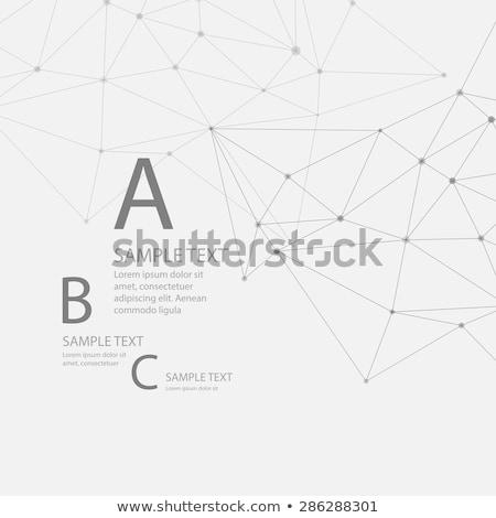 Stock fotó: Hatszög · szín · absztrakt · eps · 10 · vektor