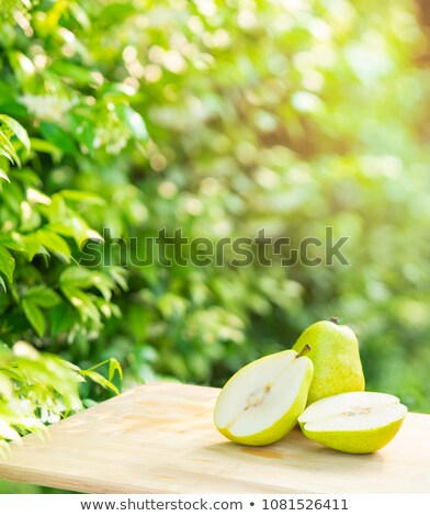 Background of pear trees. Stock photo © RAStudio