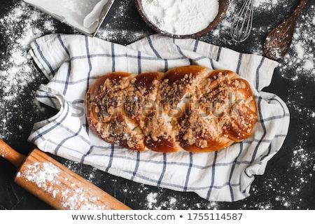 Sweet braided bread  Stock photo © Digifoodstock