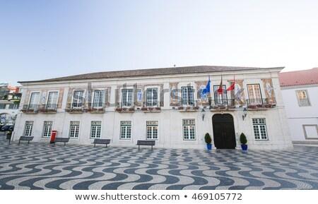 Famous Square In Cascais Portugal Zdjęcia stock © jorisvo