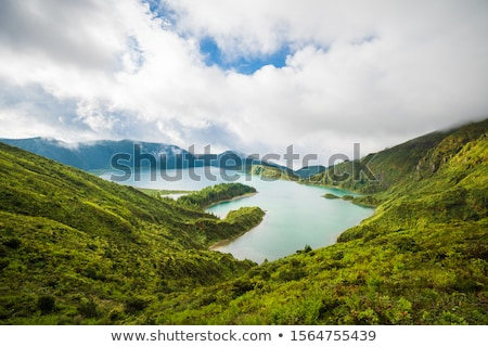 The landscape on Sao Miguel Stock photo © CaptureLight
