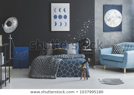 design with contrasting stars stock photo © blackmoon979