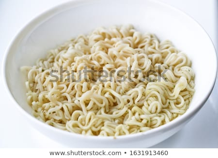 Főtt rizs tészta tál vékony Stock fotó © Digifoodstock