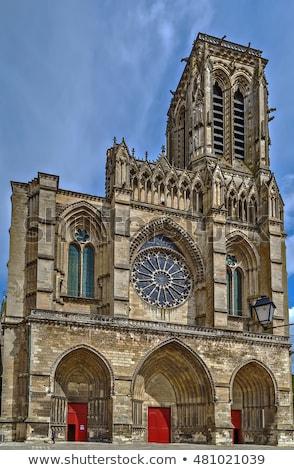 Catedral cielo ciudad iglesia azul viaje Foto stock © benkrut