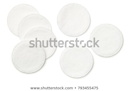 Cotton Pads Isolated on White Background Stock photo © ThreeArt