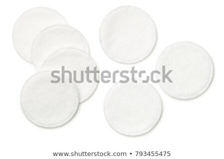 algodão · higiene · pessoal · limpeza · orelhas · azul · cosméticos - foto stock © threeart