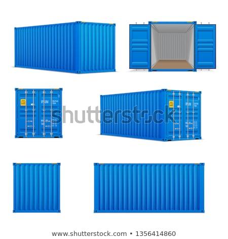Vracht licht industrie schip container buitenshuis Stockfoto © IS2
