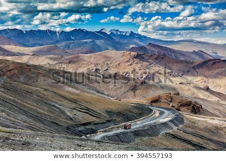 Autópálya India Himalája több alföld út Stock fotó © dmitry_rukhlenko