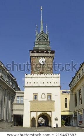 Gate in Pardubice Stock photo © benkrut