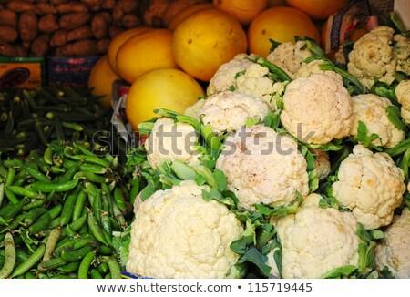 Cukkini közelkép kilátás étel természet nyár Stock fotó © boggy