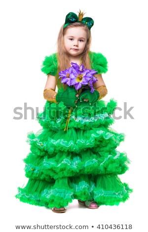 beautiful girl wearing like a frog stock photo © acidgrey