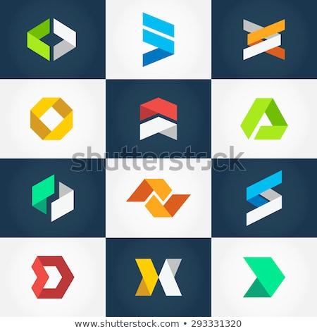 Business società triangolo abstract vettore logo Foto d'archivio © blaskorizov
