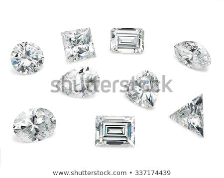 Diamond коллекция макроса мнение различный Cut Сток-фото © albund