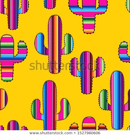 Mexican Symbols, Cinco de Mayo Mexican Holiday Stock fotó © robuart