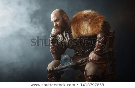 Male viking Stock photo © colematt