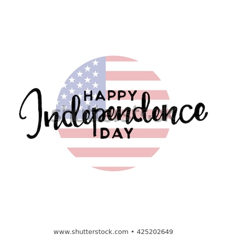 modern happy independence day background Stock photo © SArts