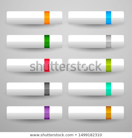 brillant · large · boutons · design · signe - photo stock © sarts
