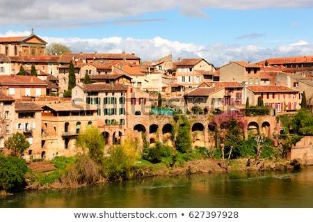 Paleis Frankrijk oude zuidwest stad reizen Stockfoto © borisb17