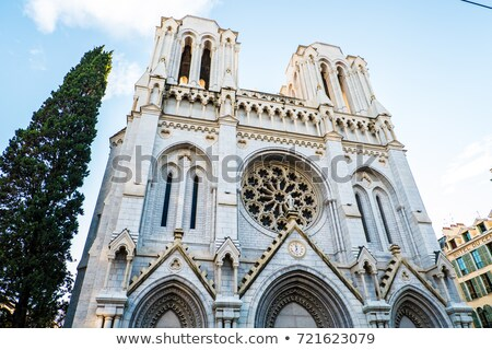 The Basilica of Notre-Dame de Nice  Stock photo © xbrchx