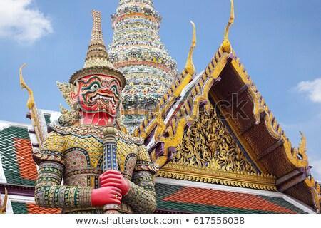 демон опекун Бангкок храма изумруд Будду Сток-фото © bloodua