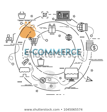 E-commerce website abstract concept vector illustrations. Stock photo © RAStudio