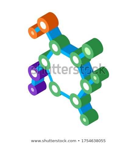 構造 医療 アイソメトリック アイコン ベクトル にログイン ストックフォト © pikepicture