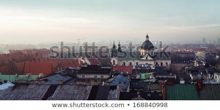 Kościoła Polska jeden barokowy Zdjęcia stock © borisb17