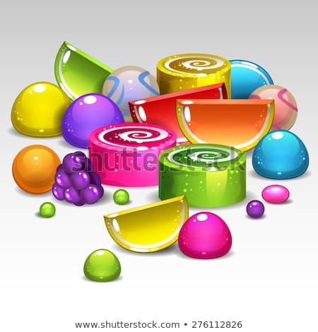 камедь капли падение конфеты Сток-фото © rcarner