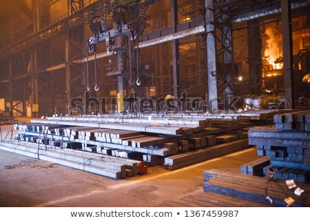metallurgical high furnace Stock photo © Andriy-Solovyov