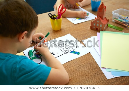 Activities with children Stock photo © photography33