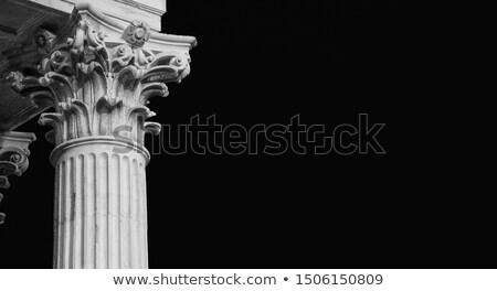 ベニスの 石 列 詳細 古い ストックフォト © Kacpura