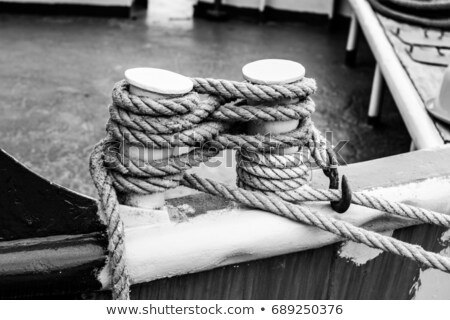 fishing rope close up stock photo © latent