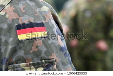 exército · Alemanha · quadro · guerra · serviço · silhueta - foto stock © perysty