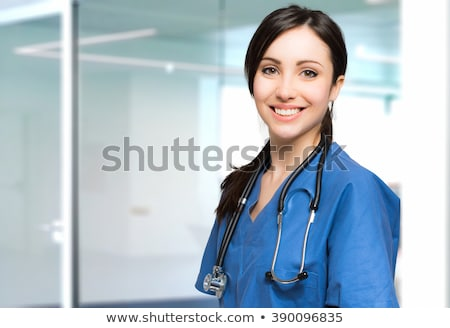 female nurse smiling Stock photo © photography33