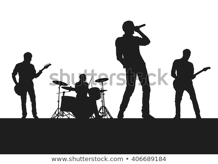 a singer and a drummer Stock photo © photography33