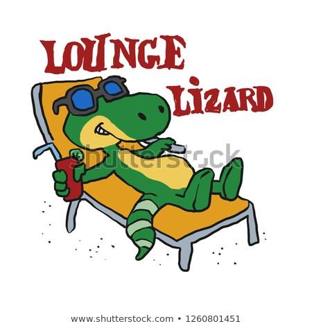 The Lounge Lizard Stock photo © ca2hill