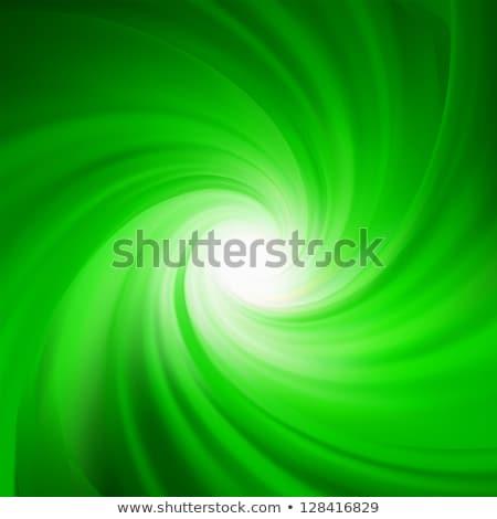 Verde rotação abstrato eps vetor arquivo Foto stock © beholdereye