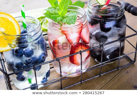 fruit and water stock photo © arcoss