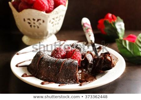 選択フォーカス チョコレート フォアグラウンド 赤 キャンディ テクスチャ ストックフォト © Gordo25