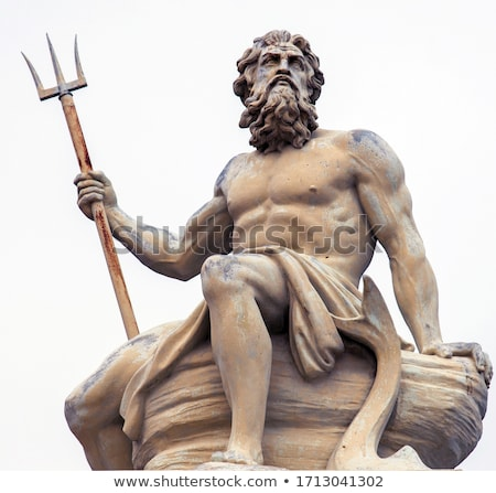 God of sea. Neptune's statue. Stock photo © FER737NG